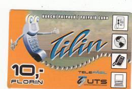 CURACAO - Tilin, UTS Prepaid Card 10 Fl, Exp.date 31/12/06, Used - Antillen (Nederlands)