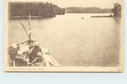 1932 Sepia View Card - Cruising Muskoka Lakes Ont. #306  Unused - 1903-1954 Reyes