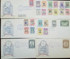 O) 1956 PANAMA, PAN-AMERICAN CONFERENCE IN PANAMA, STATUE OF BOLIVAR -BOLIVAR HALL, PRESIDENTS: DWIGHT D. EISENHOWER -PE - Panama