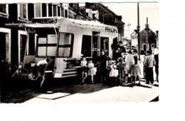 CPSM 1962 SEPTEUIL  Publicité PHILIPS Car De Démonstration Radio Télévision Electrophone -- Mai 2019 Cla L - Septeuil