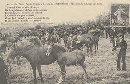 """Edition """"Cartes D'autrefois """" Thème: Commerces, Foires Et Marchés - La Foire Sainte Croix à LESSAY - Foires"""