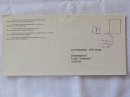 Finland 2001 Cover Helsinki To Austria - Due Tax - Finland