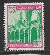 Saudi Arabia Scott # 507 Used Mosque,1974 - Saudi Arabia
