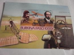 Miniature Sheet Imperf Mercedes Benz - Burkina Faso (1984-...)