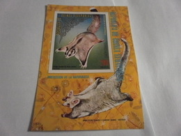 Miniature Sheet Perf Nature Protection Australia Wildlife - Equatorial Guinea
