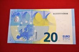 20 EURO ITALIA S008B4 - ITALY S008 B4 - SC2235540666 - NEUF - UNC - 20 Euro