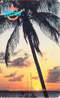 ST. EUSTATIUS(chip) - Sunset On St.Eustatius, Teccom Telecard First Issue 60 Units, Chip GEM3.3, Used - Antilles (Netherlands)