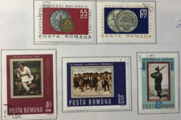 Romania - (0) - 1967  - # 2589/2590, 2591, 2592/2593 - 1948-.... Republics