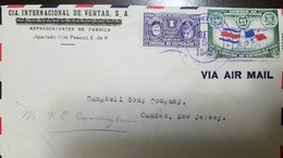 O) 1942 PANAMA, PIERRE AND MARIE CURIE SCT RA10 1c, SETTLEMENT OF THE COSTA RICA PANAMA BORDER DISPUTE, AIRMAIL, CIA INT - Panama