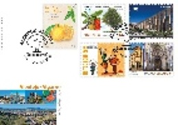 Portugal & FDC Alentejo And Algarve, Self Adhesives 2019 (3720) - Stamps