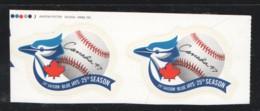 2001 Toronto Blue Jays Baseball Team Pair From Booklet  Sc 1901 - Ungebraucht