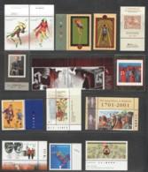 2001 15 Stamps Sc 1894-5, 1900, 1905-9, 1915-7, 1919-20, 1925-6 MNH - Neufs