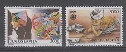 PAIRE NEUVE DE YOUGOSLAVIE - EUROPA 1989 : JEUX D'ENFANTS N° Y&T 2222/2223 - Europa-CEPT