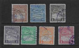 VENEZUELA 1932 LOT AERIENS YVERT N°A26/27-30-34/36-38 OBLITERE - Venezuela