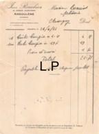 36-0318   1933 JEAN ROUCHIER A ANGOULEME - M. BENOIST A CHAUVIGNY - 1900 – 1949