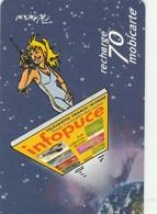MOBICARTE  RECHARGE 70   INFOPUCE - France