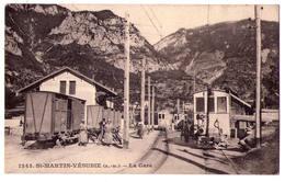 4614 - Saint-Martin-Vésubie ( 06 ) - La Gare - édit. Giletta - N°1243 - - Saint-Martin-Vésubie