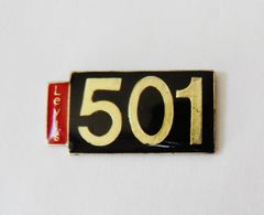 Pin's Jean's LEVIS 501 - VR/1 - Trademarks