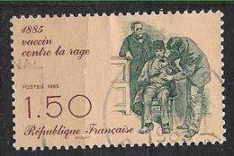 FRANCE  2371 Vaccin Contre La Rage PASTEUR - France