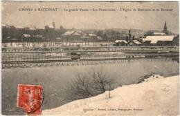 61ld 723 CPA - L'HIVER A BACCARAT - LA GRANDE VANNE - LES PROMENADES - Baccarat