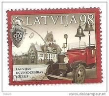 Latvia Lettonia Fire Car / Auto Fire Museum 2010 Y  Used  (o) - Latvia