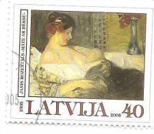 Lettonie - Lettland - Latvia - Janis Rozentals Painting - Women With Children 2005 Used (0) - Latvia