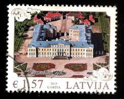 2015 Latvia Lettland - Latvian Architecture - Rundale Palace  Stamp USED (0) - Latvia