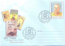 2019. Moldova, E. Tarlapan, Writer, Poet & Humorist, Prep. Env, FDC,  Mint/** - Moldova