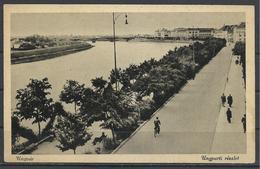 Ukraine,Uzhhorod, Ungvár, River Uhz Walkway, '40s. - Ukraine