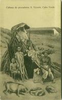 APE VERDE - CABANA DE PESCADORES - S. VINCENT - CABO VERDE - 1920s (BG3430) - Cape Verde