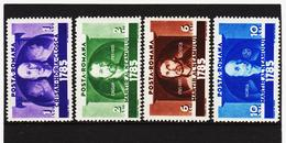 POL1797 RUMÄNIEN 1935 MICHL 480/83 (*) FALZ SIEHE ABBILDUNG - 1918-1948 Ferdinand, Carol II. & Mihai I.