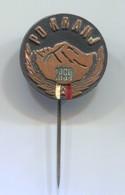 Alpinism Mountaineering Climbing Montanismo - PD KRANJ Slovenia, Vintage Pin, Badge, Abzeichen - Alpinism, Mountaineering