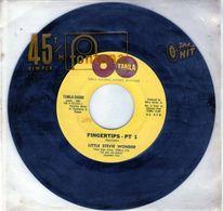 Disque 45 Tours De Little Stevie Wonder - Fingertips 1&2 Tamla -54080 - 1962 - - Soul - R&B