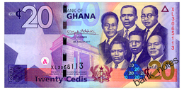 GHANA 20 CEDIS 2017 Pick 40g Unc - Ghana