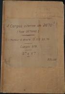 En1.L- Cargo Citerne 1949 Mexphalte Roche-maurice Port-Gerome Raoul-Simon Malet CRLN Rouen Moteur Diesel MAN Paquebot - Ohne Zuordnung