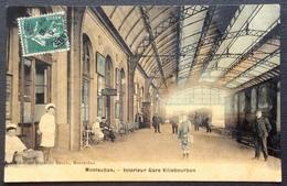 CPA194 Tarn Et Garonne Montauban Gare Villebourbon SNCF Semeuse 5c Magasins Réunis - Montauban