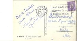 """Pétain  22.3.1943      """" Une Enveloppe Retournée Peut Encore Servir """" - Storia Postale"""