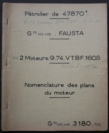 En1.m- FAUSTA CAN Cie Auxiliaire Navigation France Chantier Chantier France Dunkerque Moteur Diesel BW Cargo Paquebot - Nautique & Maritime