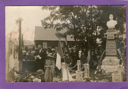 Carte-Photo - ENGLEBELMER - Inauguration Du Monument Aux Morts - - Otros Municipios