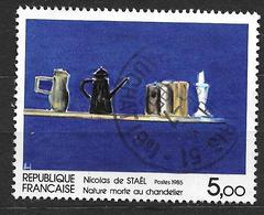 FRANCE  2364  Nature Morte Au Chandelier Nicolas De Staël . - France