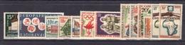 Cameroun 1964 Yvert 379/80 - 381/83 - 384/85 - 386/89 - 390/91 Neufs** MNH (48) - Cameroon (1960-...)