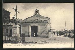 CPA Grau-du-Roi, L'Eglise - Le Grau-du-Roi