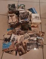 Lot De 1400 Cartes Postales Variées Avec Animées Et Non Animées, Timbrées Ou Non, Manuscrites Ou Vierge + CP Illustrés - Postcards