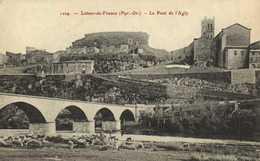 Latour De France (Pur Or) Le Pont De L' Agly  Troupeau De Moutons RV - France
