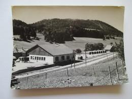 CPSM  Les Hôpitaux -neufs Colonnie SNCF  Chemin De Fer 1960 - France