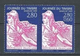 """FR YT P2991A Paire """" Journée Du Timbre """" 1996 Neuf** - France"""