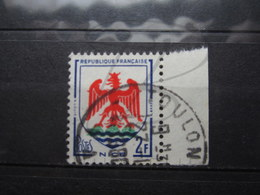 "VEND BEAU TIMBRE DE FRANCE N° 1184 + BDF , OBLITERATION "" TOULON "" !!! - 1941-66 Armoiries Et Blasons"