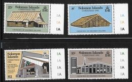 Solomon Islands 1981 Christmas Churches MNH - Solomon Islands (1978-...)