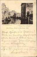 Cp Hamburg, Ausstellung Italien In Hamburg 1895, Bootspartie - Germany