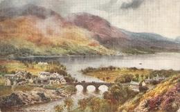 """H.B.Wimbush.Bonnie Scotland. Kinloch Rannoch"" Tuck Oilette PC # 7809 - Tuck, Raphael"